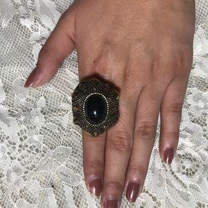 Huge black ring